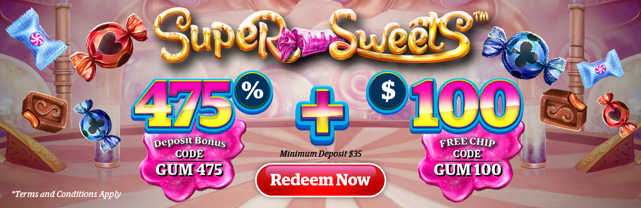 Super Sweets game promotions